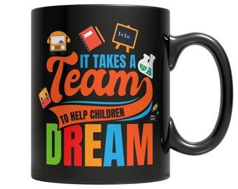 It Takes a Team to Help Children Dream