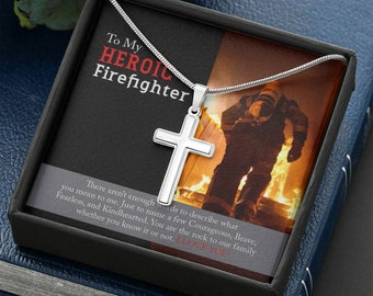 To My Heroic Firefighter
