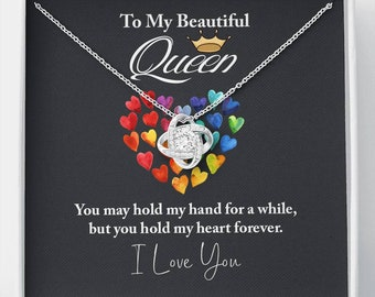 Daughter Gift, Necklace for Daughter, Daughter's Gift from parents, Birthday Gift to Daughter, To My Daughterto My Beautiful Queen