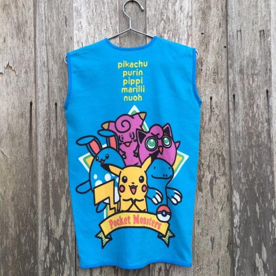 Vintage Pokemon Fleece Vest