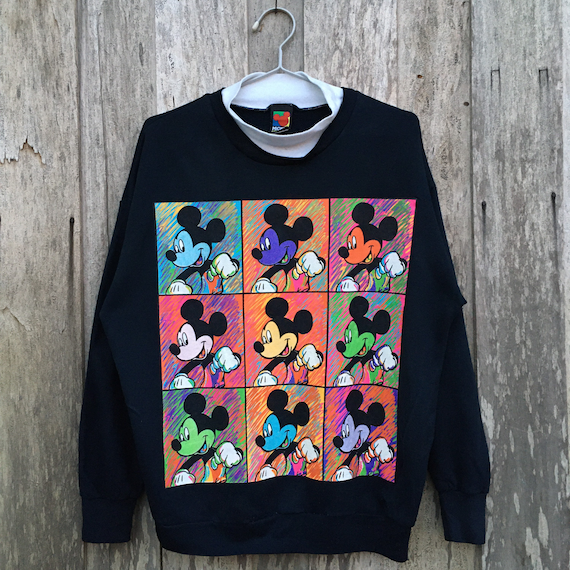 90s Mickey Mouse Pop Art