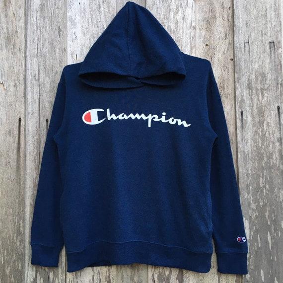 Vintage Champion Hoodie Sweatshirt