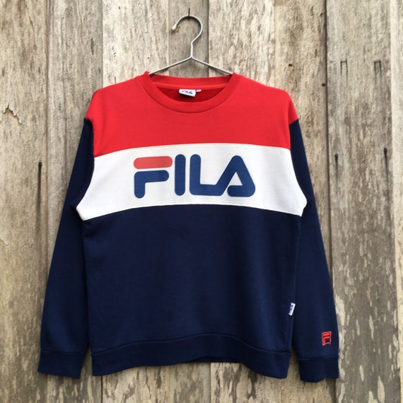 Vintage Fila Crewneck Sweatshirt