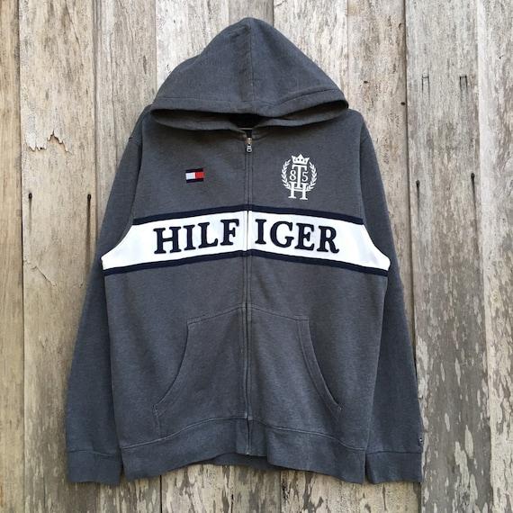 Tommy Hilfiger Spell Out Hoodie Sweatshirt