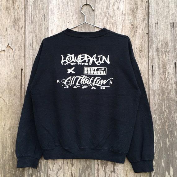 Vintage Drift Survival Crewneck Sweatshirt Gildan