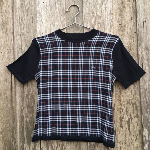 Burberry Short Sleeve Sweatshirt