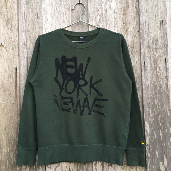 Vintage New York Newave Crewneck Sweatshirt