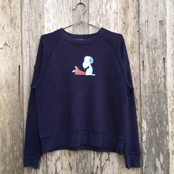 Vintage Snoopy Crewneck Sweatshirt Big Logo
