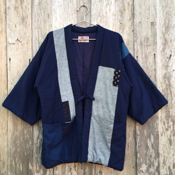 Vintage Japanese Kimono Cardigan Men's Wear