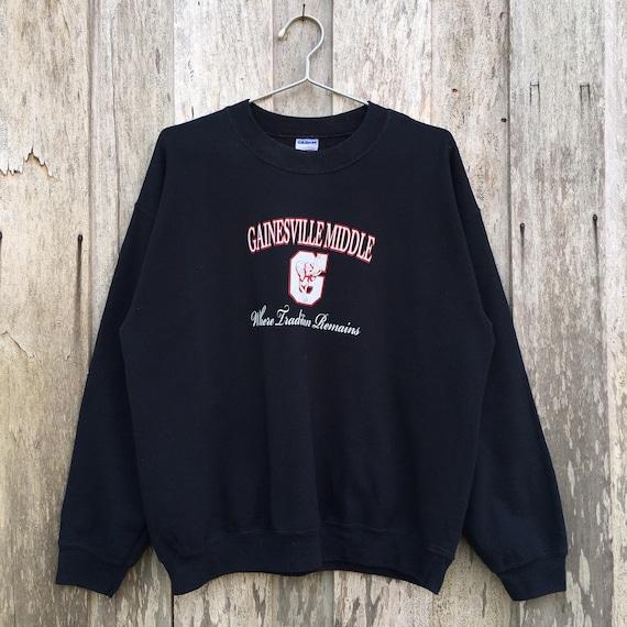 Vintage Gildan Gainesville Middle Crewneck Sweatsh