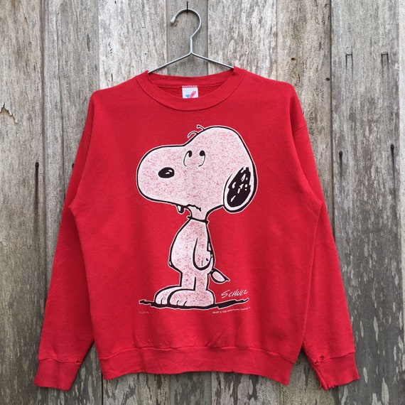 Vintage Snoopy Animated Crewneck Sweatshirt
