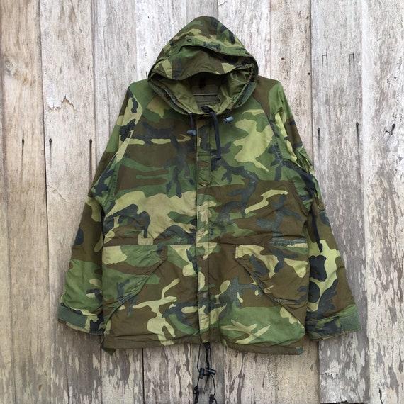 Vintage Camouflage Parka Army Hoodie