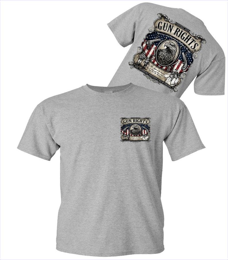 Second Amendmant T-Shirt Second Amendment Gun Rights American T-Shirt