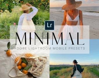 Minimal   5 Mobile Lightroom Presets, Natural Lightroom Mobile Presets, Blogger Presets, Instagram