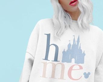 HOME Magic Castle Crewneck Sweatshirt, More Colors Available