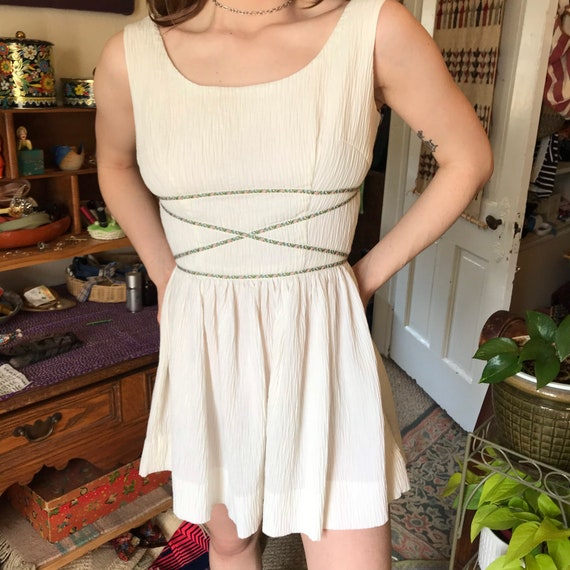 Gay Gibson Vintage Greek-Inspired Dress