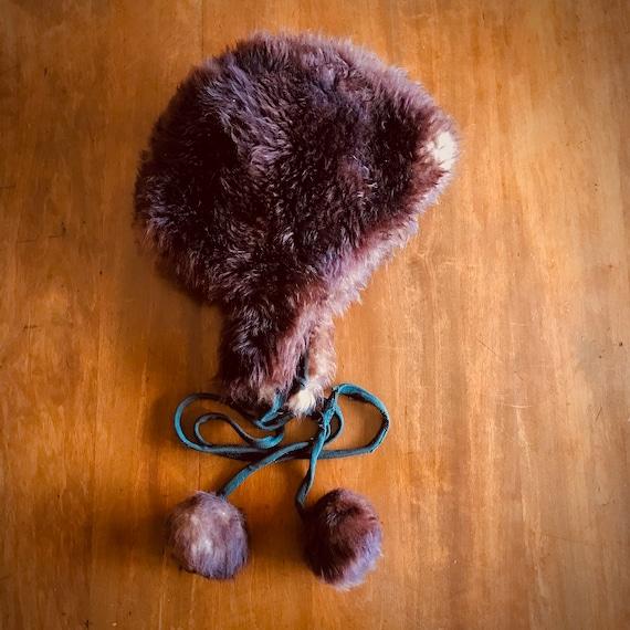 60s Vintage Sheepskin Fur Hat - image 1