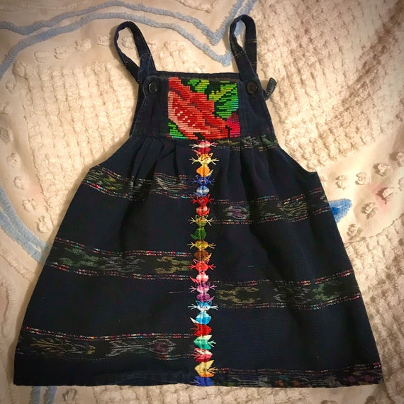 Guatemalan Vintage Children's Dress