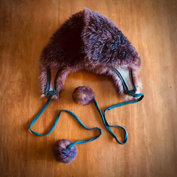 60s Vintage Sheepskin Fur Hat - image 3