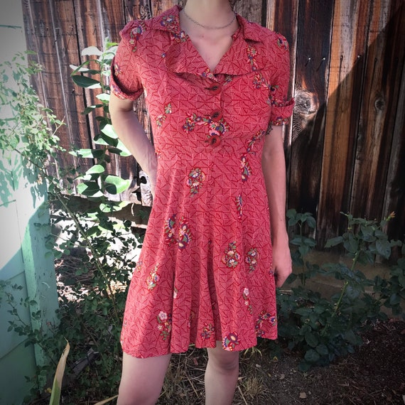 40s vintage dress