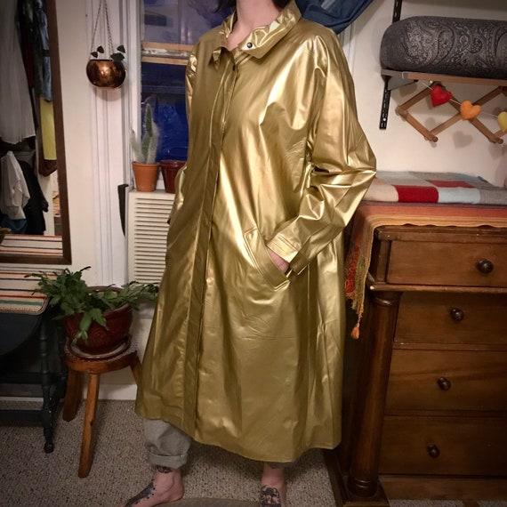 Vintage Betmar Vinyl Rain Coat