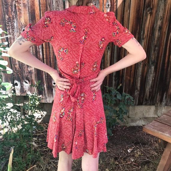 40s vintage dress - image 2