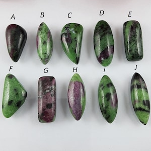 105 Cts 100/% Natural Ruby Zoisite Mix Shape Gemstone 3 Pcs For Jewelry 29X20 41X18 mm