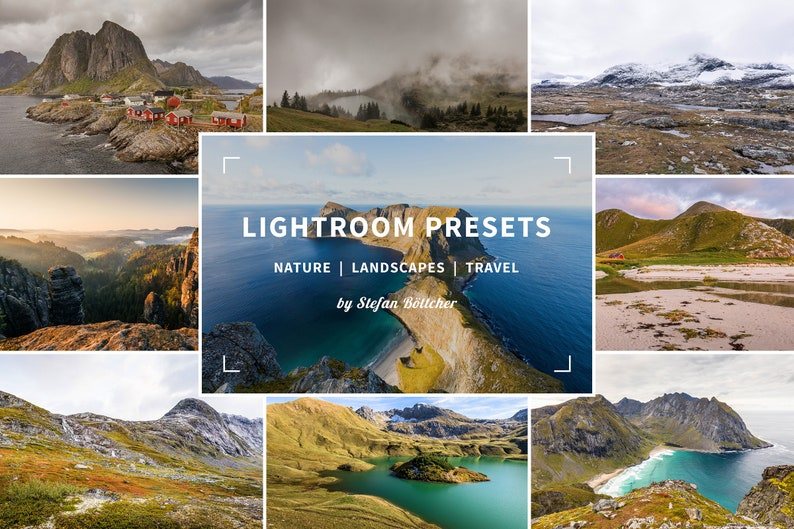9 Outdoor Lightroom Presets for nature landscapes and travel image 0