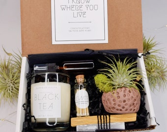 New Home Gift   Housewarming Gift   Gift Box   Congratulations Gift   Air Plant Gift   Care Package   Congrats Gift   Send a Gift