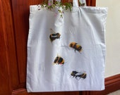 Bees and Bees Tote Bag