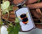 Bumble Bee Keyring