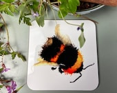 Bumble Bee Drinks Coaster