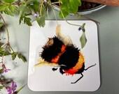 Bumble Bee Drinks Coaster