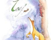 Leaf - a gentle silent children's comic book