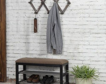 expandable wall rack etsy