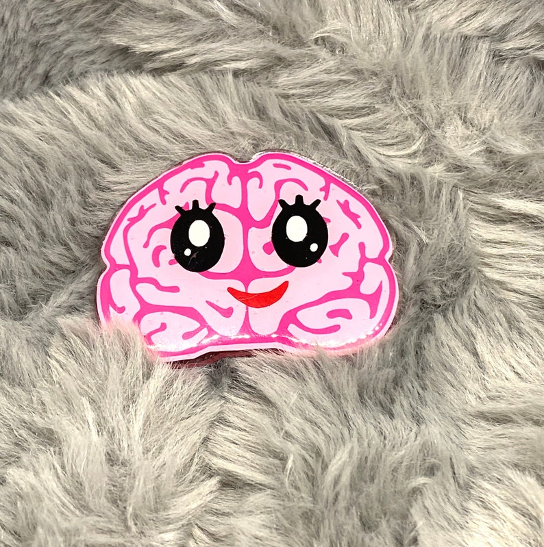 Brain badge reel