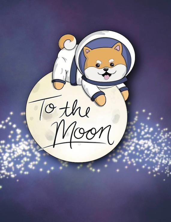 Doge To The Moon - Art Print