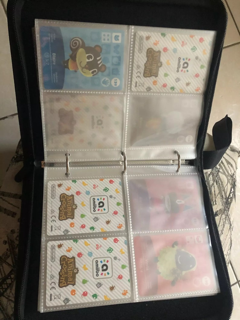 ACNH Card Display Storage ACNH Collector For 320 Cards Amiibo Card Book Collectibles Game Characters Animal Crossing Book for Amiibos