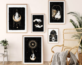 Witchy Bedroom Wall Etsy