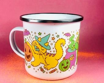 Kitty Witches Halloween Mug