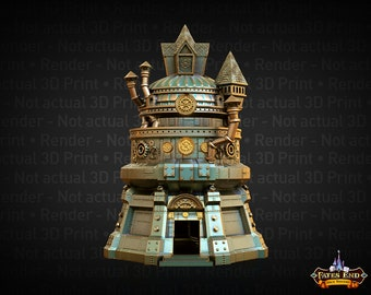 Artificer Dice Tower - Fate's End