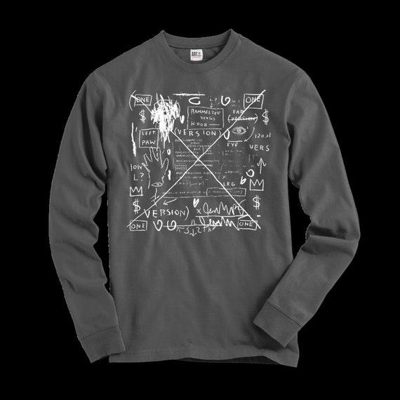 Basquiat Rammellzee and K-Rob Album Cover Artwork Youth T-Shirt
