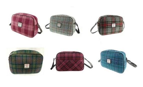COL94 Glen Appin Ladies Harris Tweed Square Shoulder Bag Avon LB1205