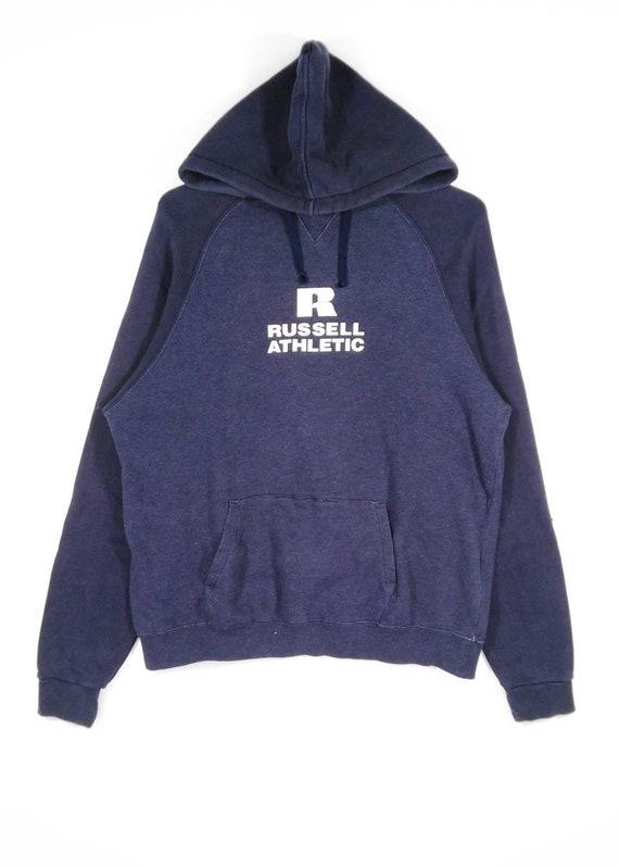 Vintage RUSSELL ATHLETIC Hoodie Sweatshirt