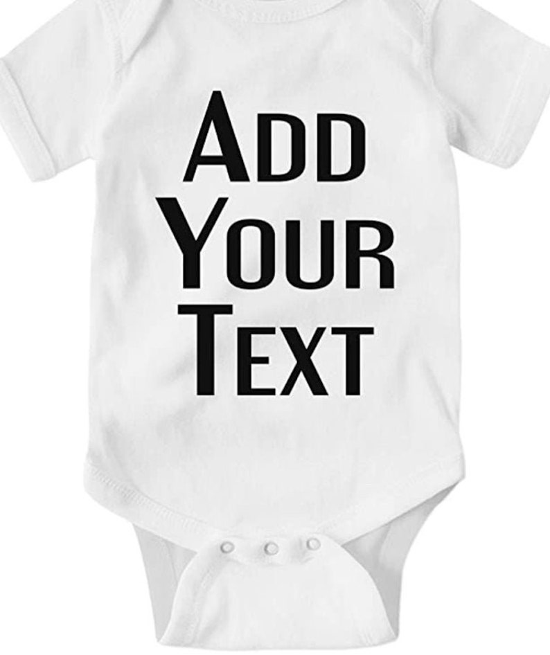 Custom Bodysuits Bodysuit Onesies Clothes Newborn Baby gift Custom Onesie Add your text here custom Bodysuit Baby shower gift