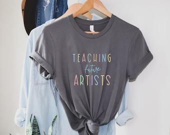 Art Teacher Shirt, Art Shirt, Art Teacher, Art Teacher Tee, Teacher Shirt, Artist Tee, Art Teacher Gift, Gift for Teacher, Art Clothing