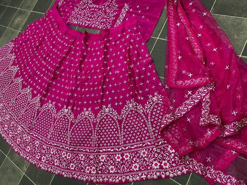 Lehenga Choli Dupatta Pakistani Designer Wedding Wear Party Wear Dress For Women New Lengha Bollywood Lehenga Sari Readymade Lehenga Choli