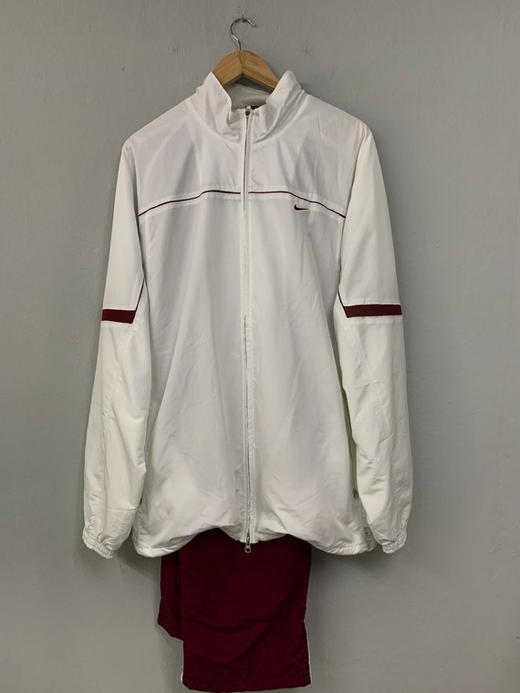 Tracksuit Nike White Red XXL