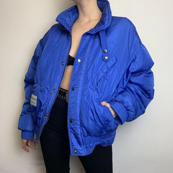 "Vintage 80's Down Jacket Winter Jacket Jacket ""Poc"