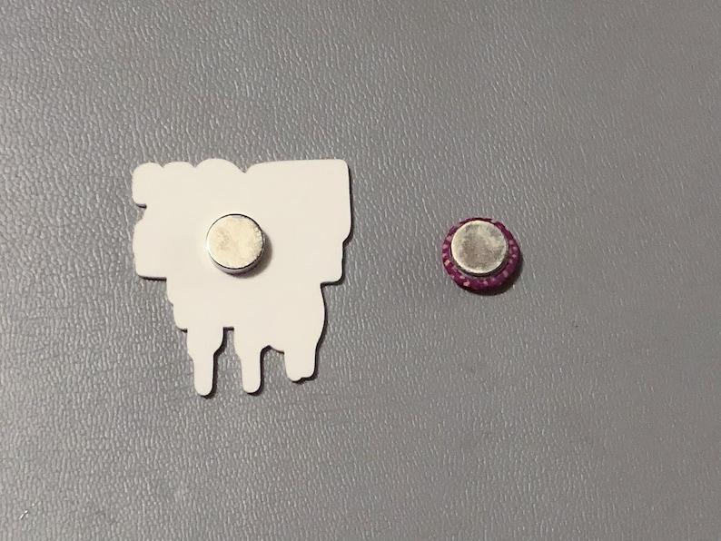 Size of your stash saying needle minder diamond painting fridge magnet